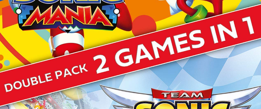 Amazon.com lists a 'Sonic Mania + Team Sonic Racing Double Pack' for Switch