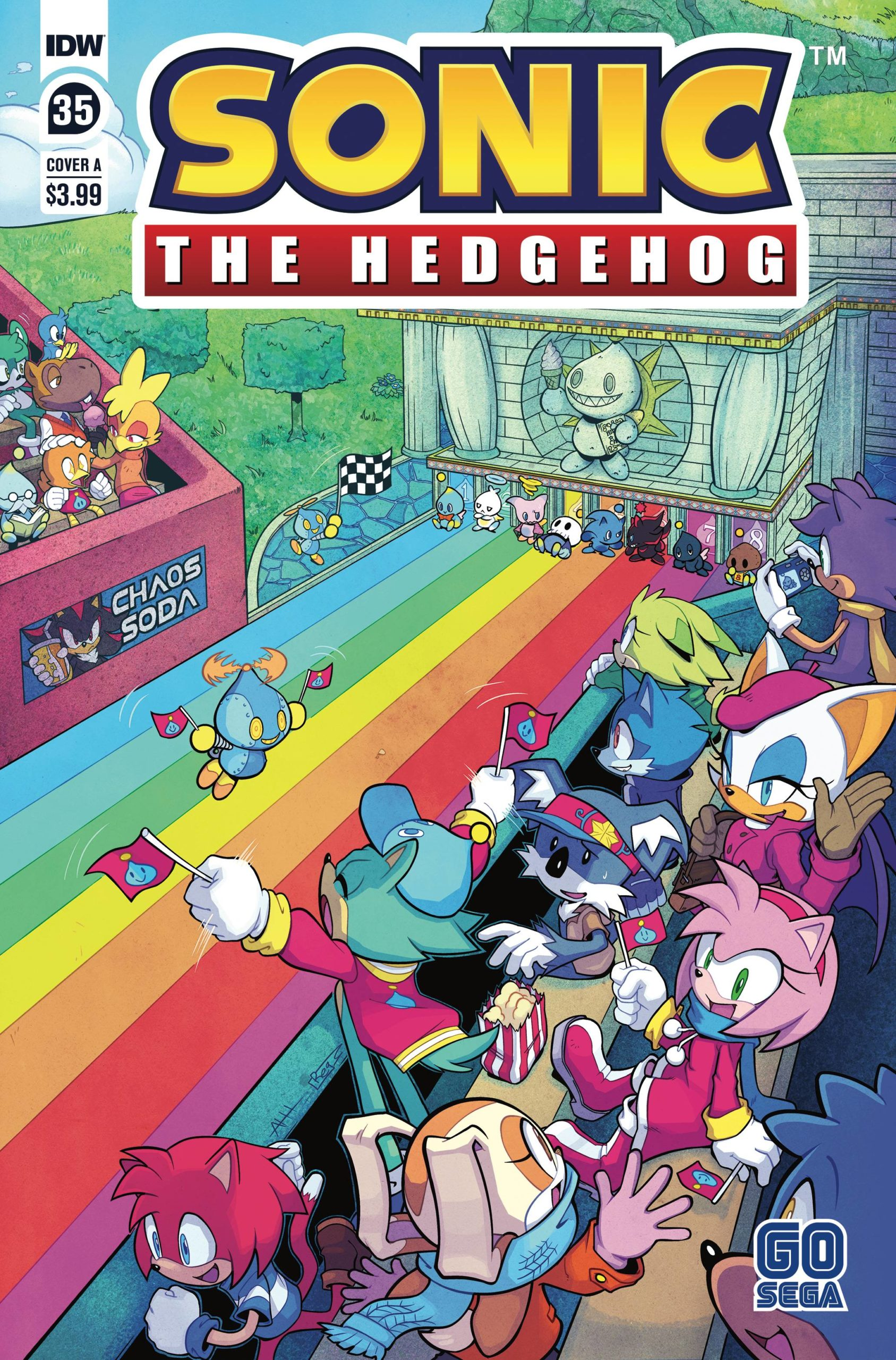 Covers And Solicitations Reveals For Idw S Sonic The Hedgehog 35 And Bad Guys 3 The Sonic Stadium