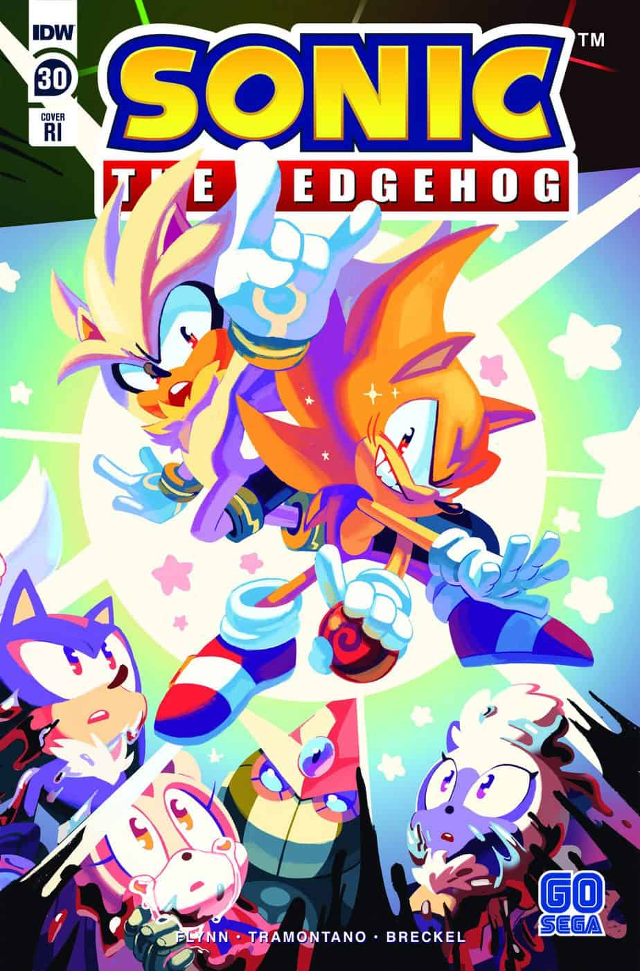 Idw Sonic Issue 30 Retailer Incentive Cover Builds On Metal Virus Montage The Sonic Stadium