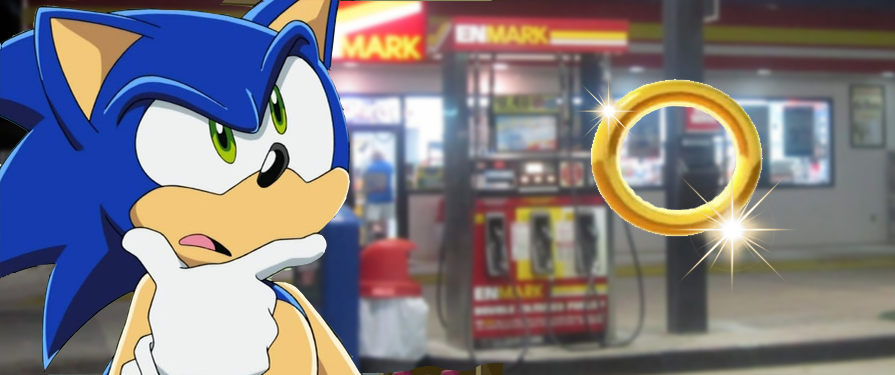The Mystery Behind Gas Stations Using Sonic Sound Effects