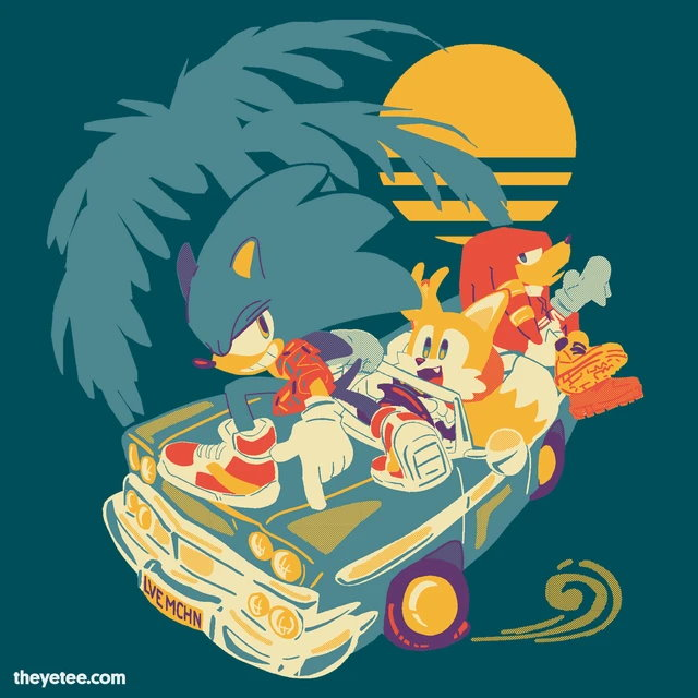 Shirt Alert Cruisin Available At The Yetee The Sonic Stadium Awesome tees for your torso! shirt alert cruisin available at the