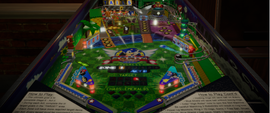 SAGE 2020: Sonic Pinball Panic Imagines What A Real Sonic Pinball Table Would Look Like
