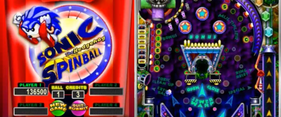 Play Sonic Spinball Online With Candystand
