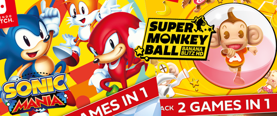 Two New Double-Packs Hit Nintendo Switch Today – Mania, Forces, Team Sonic Racing and Super Monkey Ball!