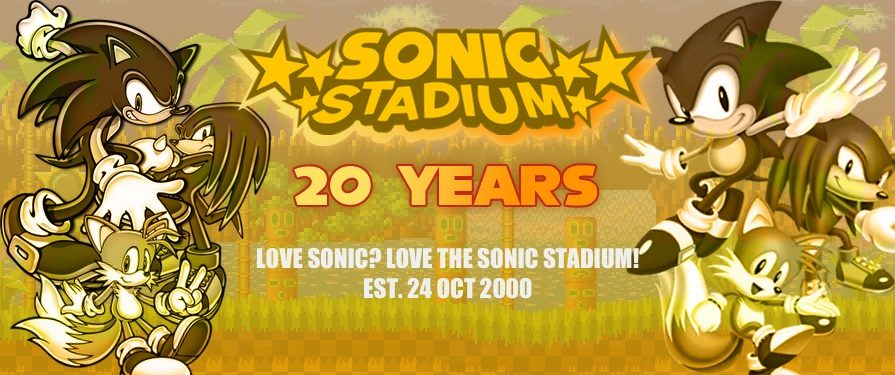 Sonic Stadium's 20th Anniversary! Special Features, Discord, Twitch Channel and More!