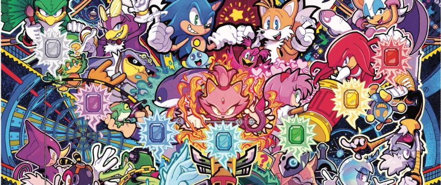 IDW Sonic the Hedgehog #37 Revealed, as well as a new Premium Collection!