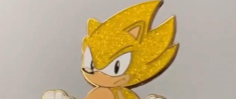 All That Glitters Is Fast With This Super Sonic Pin