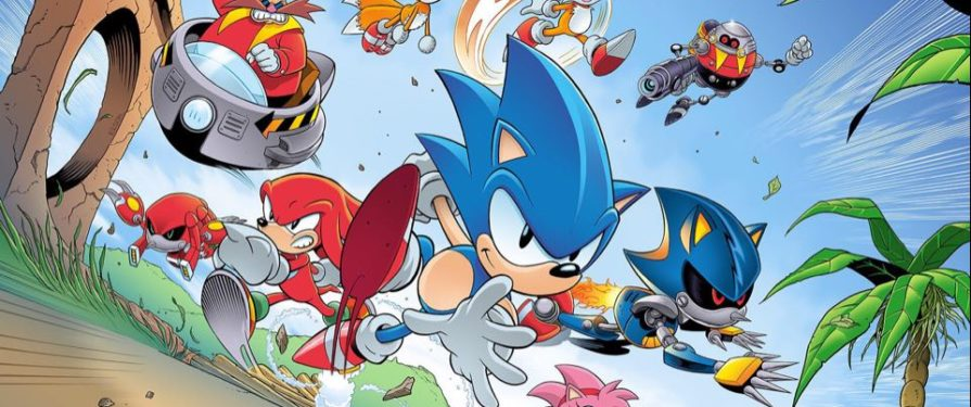 SEGA Celebrates Sonic R's Anniversary With New Artwork From Sonic the Comic's Rich Elson
