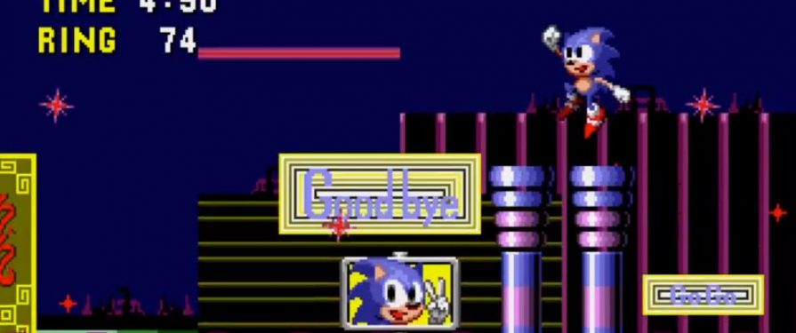 Sonic 1 Prototype Now Available to Play for the First Time