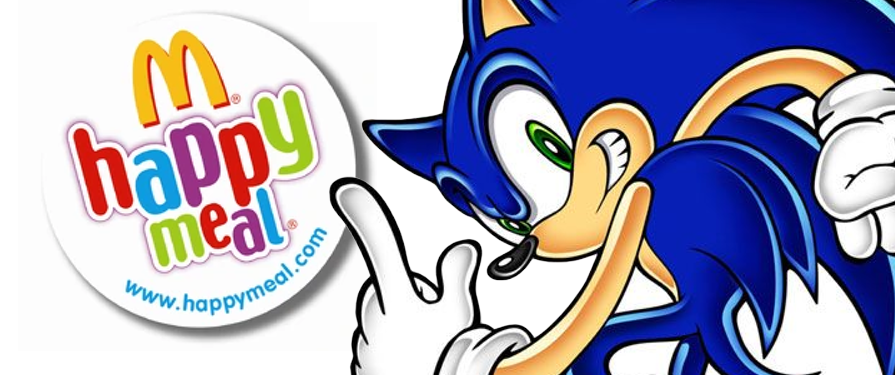 New Sonic the Hedgehog McDonald's Happy Meal Toys Coming This Summer