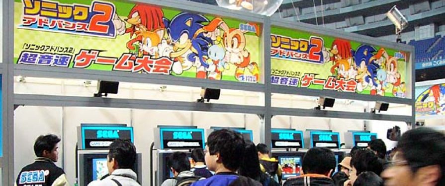 Special Chao Downloads and Exclusive Sonic Merch Available at World Hobby Fair 2003