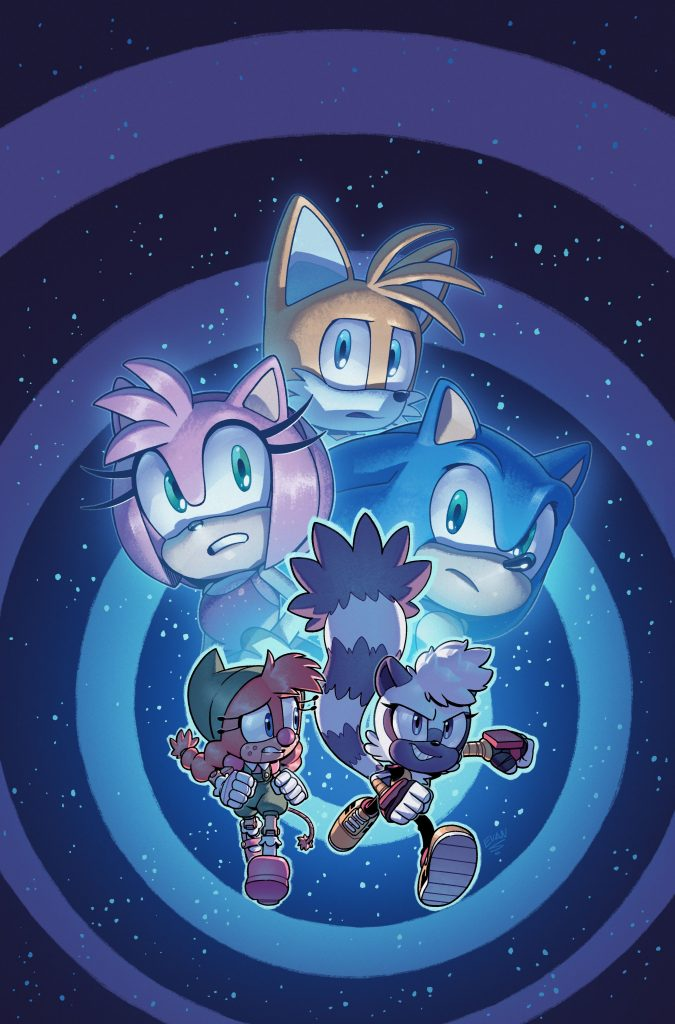 IDW Sonic #37 Alternative Cover A - by Evan Stanley