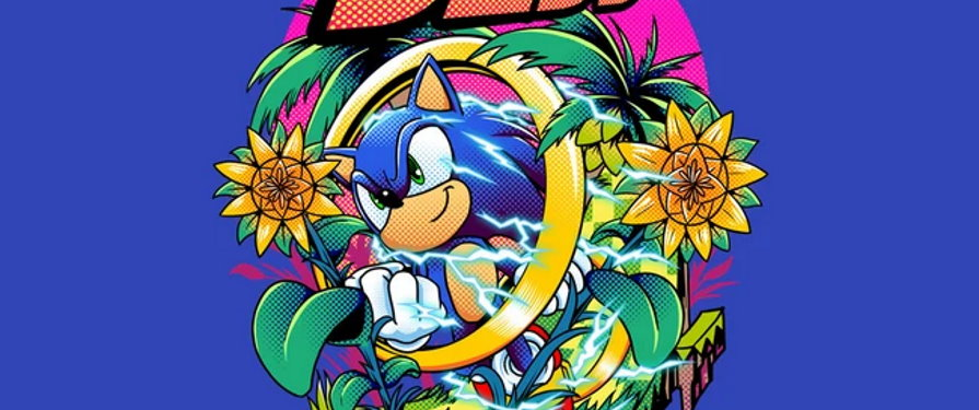 Shirt Alert! Sonic Speed available at TeeFury