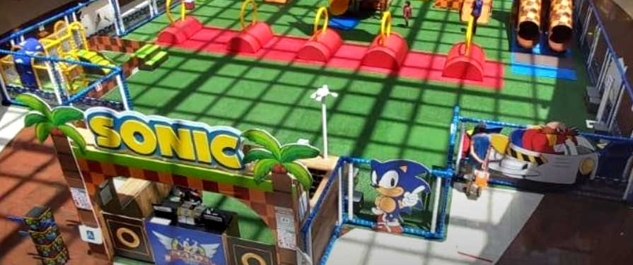 A Sonic-Themed Playground opens in Brazil