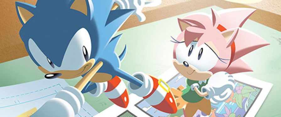 IDW Has Released a Panel featuring their Sonic Creative Team, Check It Out Here!