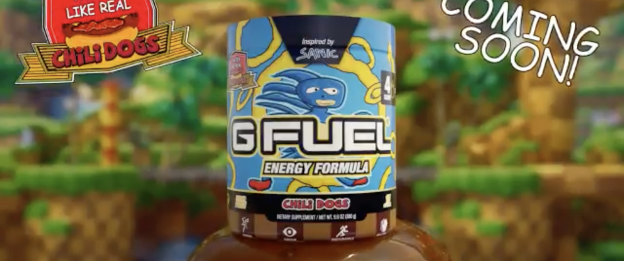 GFUEL Makes a Chili Dog Flavored Energy Drink, Because Irony Is Dead & Nothing Matters Anymore