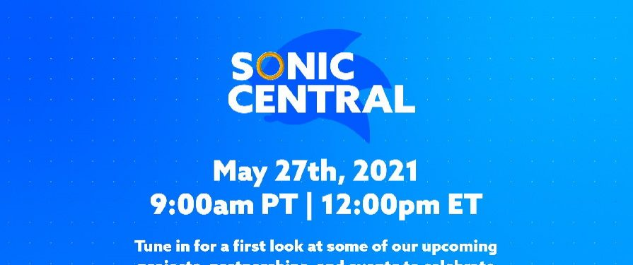 SEGA Reveals Sonic Announcement Stream for May 27th [Updated Again]
