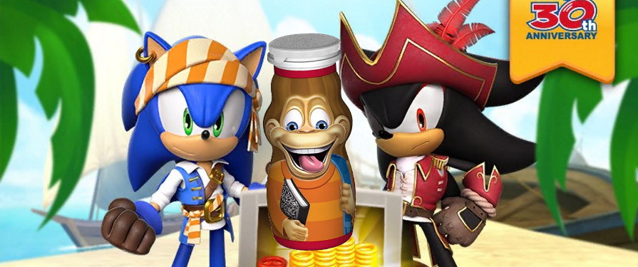 Sonic Dash Adds Pirates and Yogurt For Sonic's Birthday