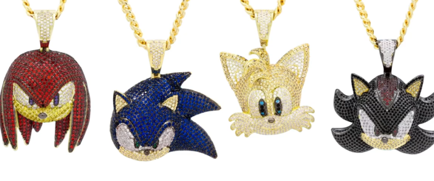 Sonic X King Ice Necklaces Now Available for Pre-Order
