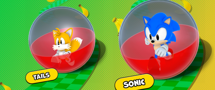 Sonic and Tails Playable Character Art Discovered in Super Monkey Ball: Banana Mania Website