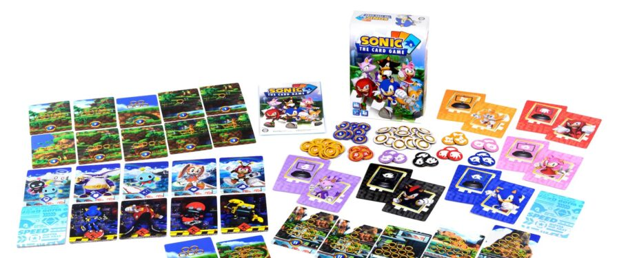 First Images and Pre-Orders for Sonic The Card Game