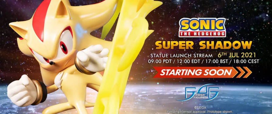 First 4 Figures Super Shadow Statue Launch Stream Set For July