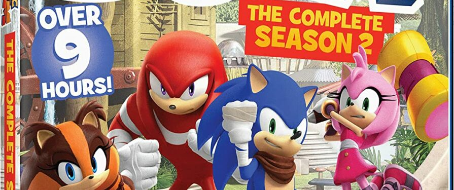 Sonic Boom Entire Second Season Finally Coming to Blu Ray, DVD