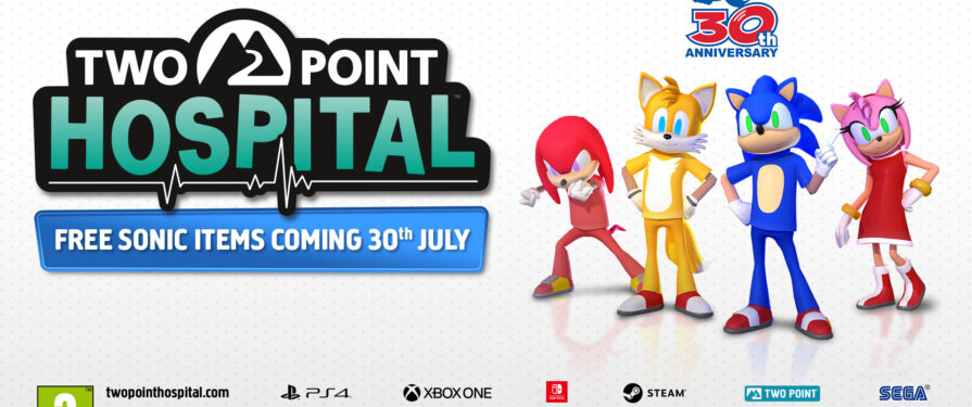 Remind Yourself That Two Point Hospital Sonic Content Is Coming With These Costume Renders