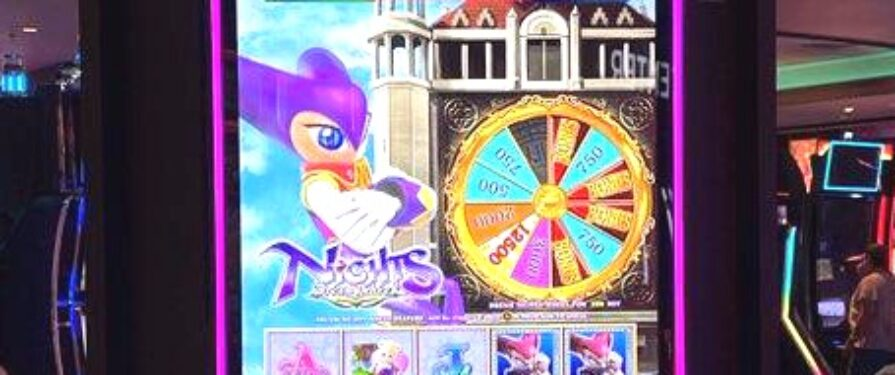 NiGHTS Dream Wheel is Real, and It's a Slot Machine