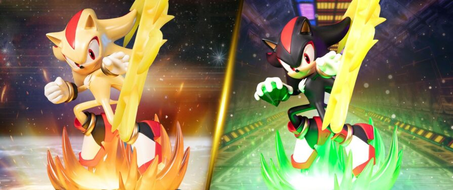 Shadow & Super Shadow F4F Statues Fully Revealed, Coming Q2 2022