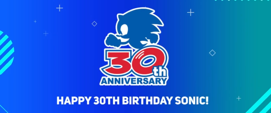 SEGA Presents Happy 30th Birthday Sonic! Video With Messages From Fans