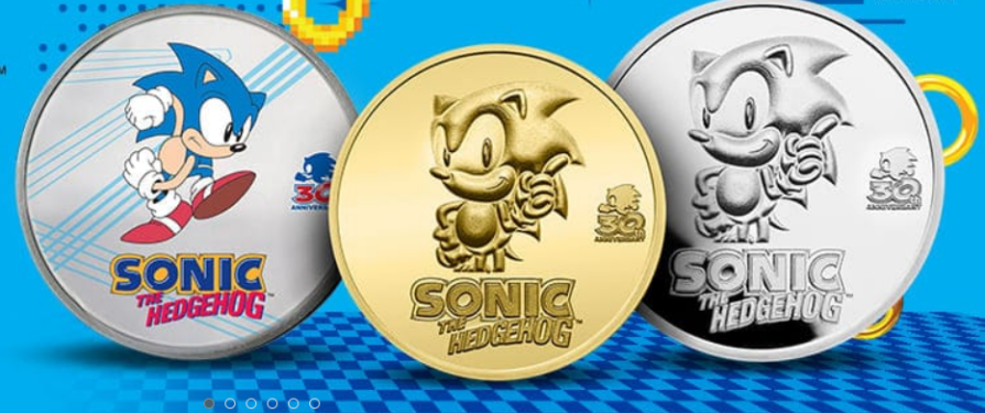 APMEX Release Sonic 30th Anniversary Silver and Gold Coins