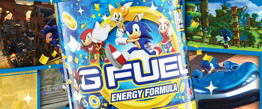 """G-Fuel Releasing Another """"Sonic-Inspired"""" Energy Drink Flavor"""
