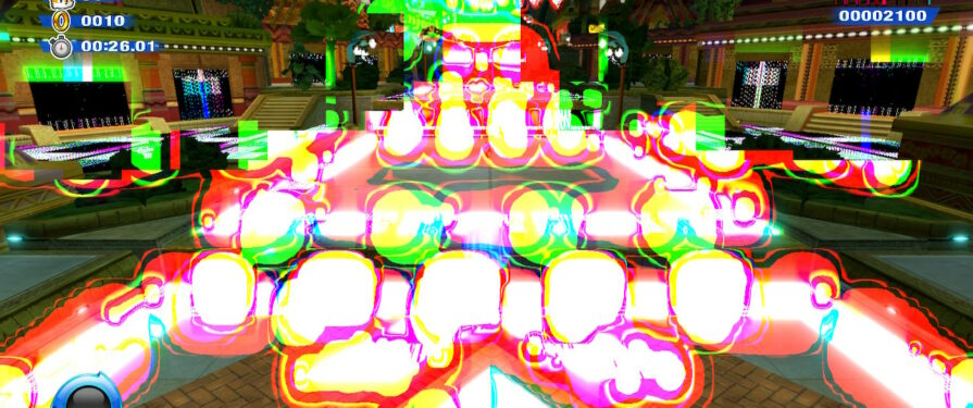 Strange Sonic Colors Ultimate Glitch is Real, and Makes Colors a Little Too Bright