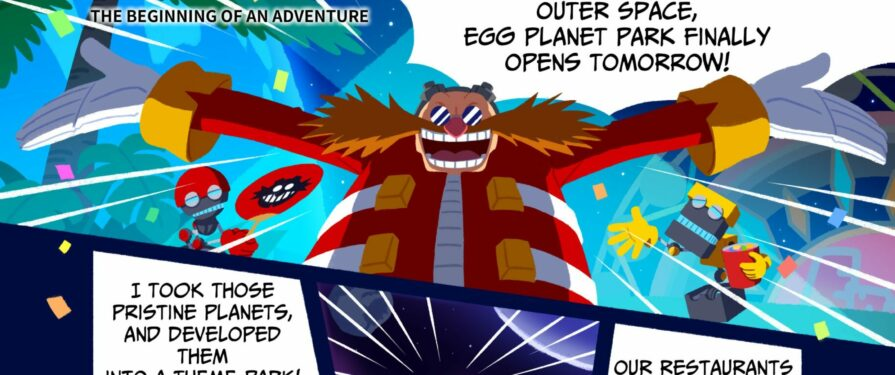 Sonic & Tails Race in Action in Sonic Colors Ultimate's Web Comic