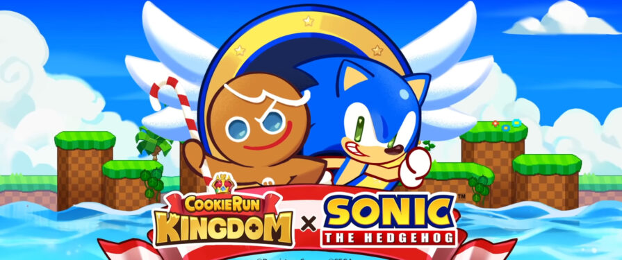 Cookie Run: Kingdom has Baked a Sonic Crossover Event