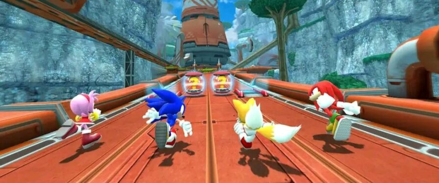 Planet Wisp added to Sonic Forces Speed Battle
