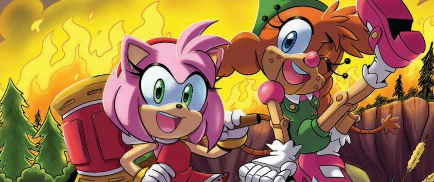 Preview Released for IDW Sonic the Hedgehog #46